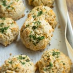 Gluten-Free Chesapeake Cheddar Bay Biscuits | www.themessybakerblog.com
