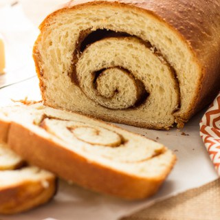 Cinnamon Swirl Loaves | This bread recipe makes two fresh loaves stuffed with cinnamon and sugar.