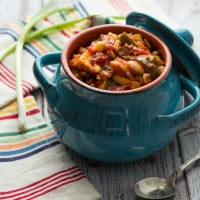 Harvest Chili Bowls Recipe | www.themessybakerblog.com