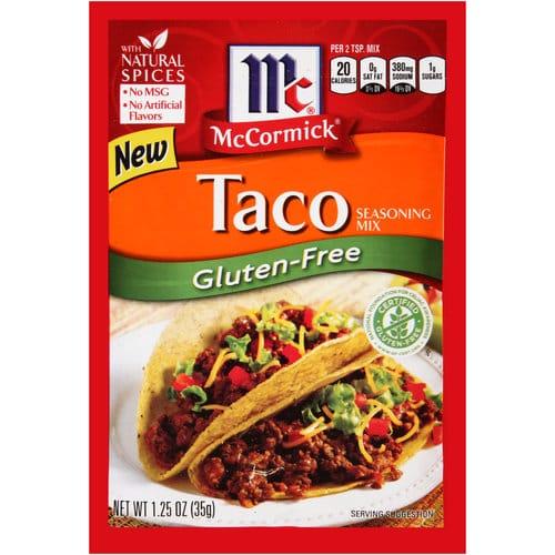 McCormick Gluten-Free Taco Seasoning