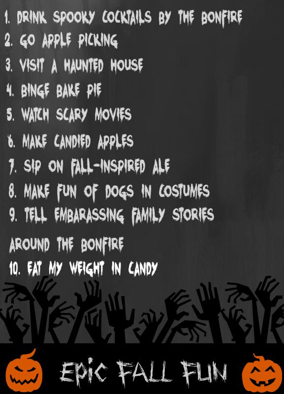 Slice of Life Saturday's Epic Fall Fun List | www.themessybakerblog.com