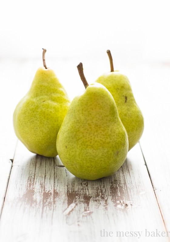 Fall Pears | www.themessybakerblog.com
