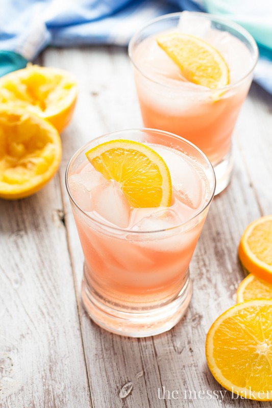 Cranberry Orange Crush Cocktail