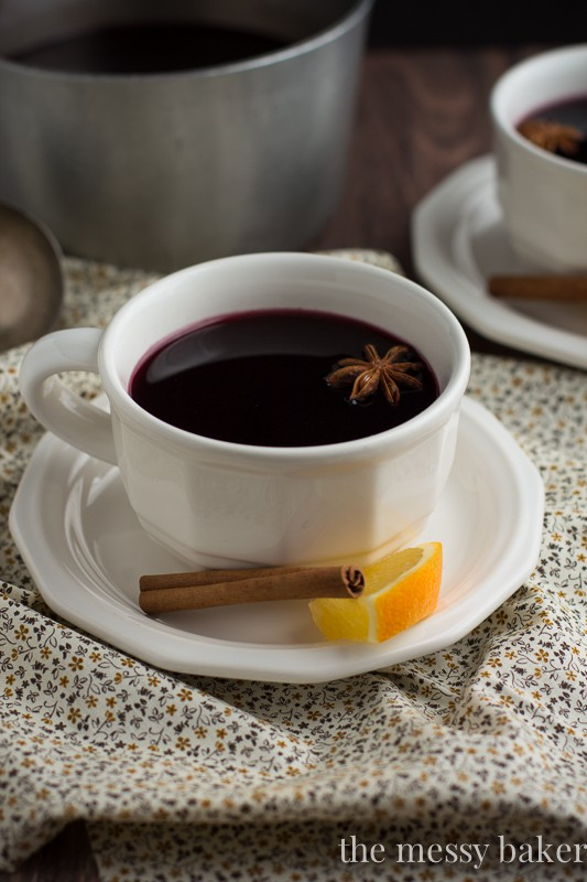 mulled wine is simply wine mixed with mulling spices cinnamon