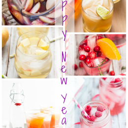 New Year's Eve Cocktail Round-Up 2014 | www.themessybakerblog.com