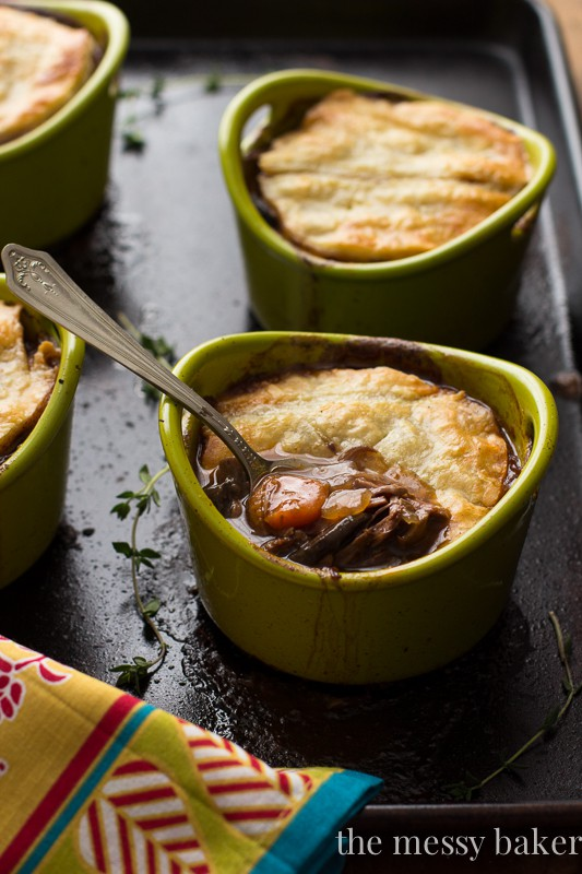 Steak and Mushroom Pie | www.themessybakerblog.com