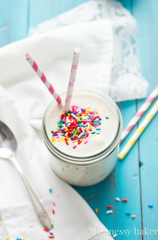 Healthy Funfetti Shake
