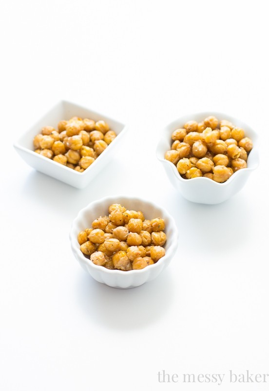 Kitchen 101: How to Roast Chickpeas { A Tutorial}