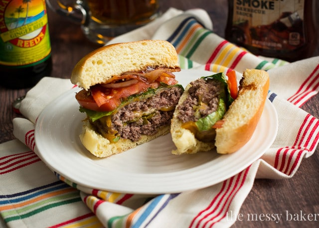 Jalapeño Popper Stuffed Bacon Burgers