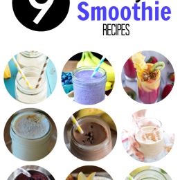 Nine Healthy Smoothie Recipes | www.themessybakerblog.com