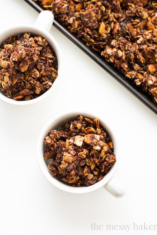 Nutella Almond Granola
