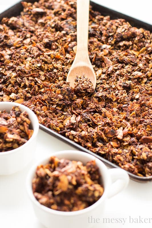 Nutella Almond Granola