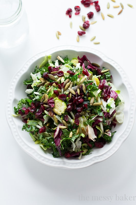 Warm Sweet Kale Salad