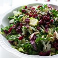 Warm Sweet Kale Salad | www.themessybakerblog.com