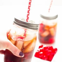 Black Cherry Cuba Libre Cocktail {aka Adult Cherry Coke} | www.themessybakerblog.com