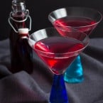 Mixed Berry Martini | www.themessybakerblog.com