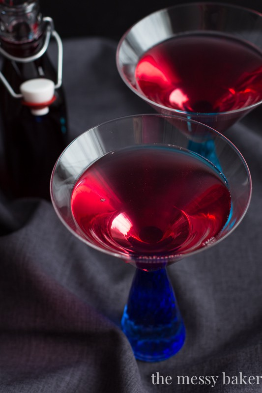 Mixed Berry Martini