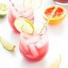Sangrita {Sangria + Margarita} Cocktail | www.themessybakerblog.com