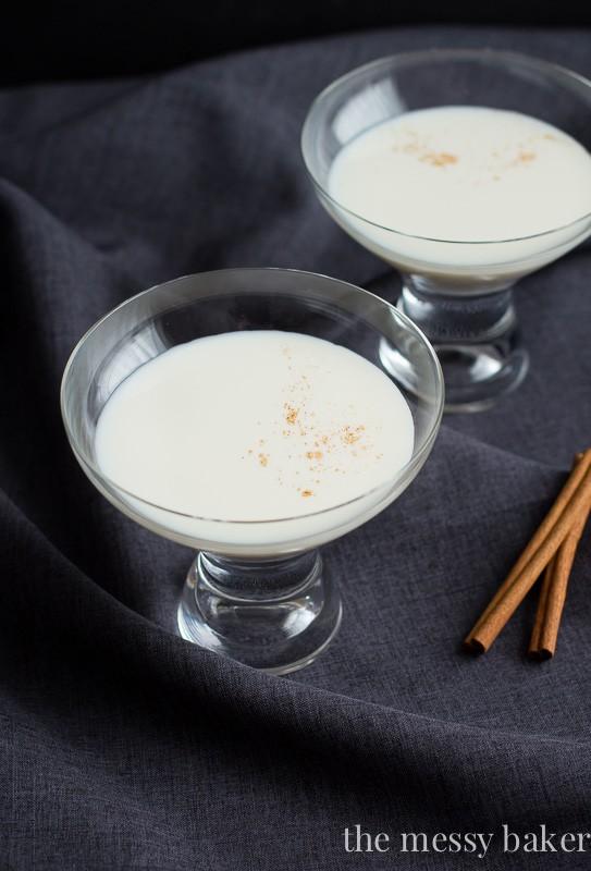 Caramel Cinnamon Martini {RumChata, Caramel Vodka, Cinnamon}