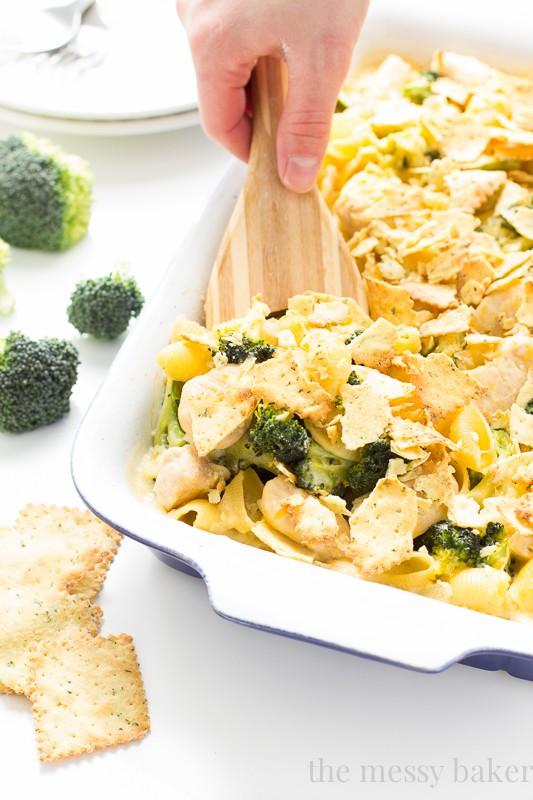 Cheesy Chicken and Broccoli Casserole