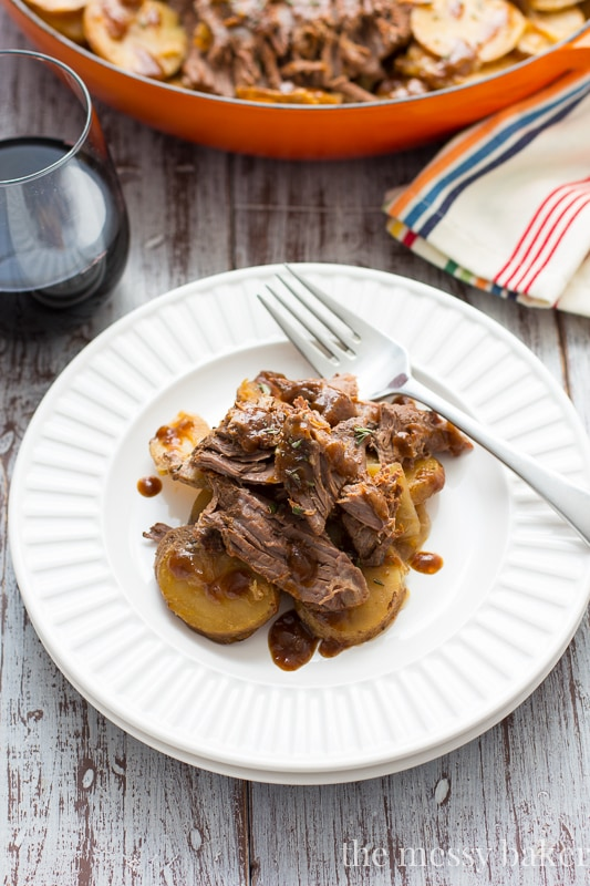 Guinness Braised Brisket with Potatoes