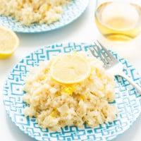Lemon Risotto | www.themessybakerblog.com