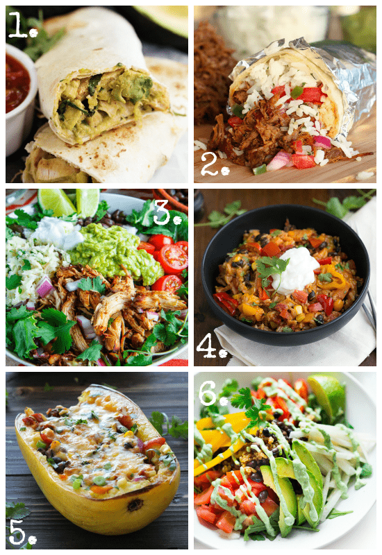 Cinco De Mayo Burrito Recipes