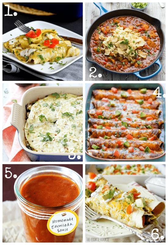 Cinco De Mayo Enchilada Recipes