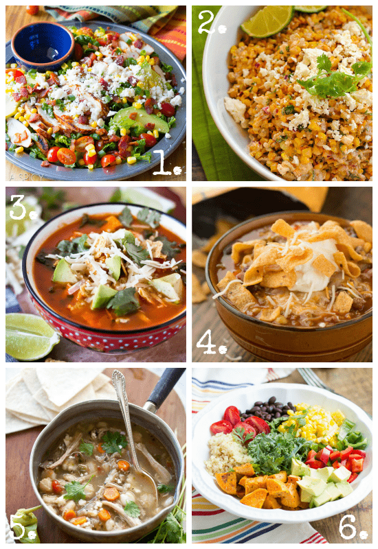 Cinco De Mayo Salad and Soup Recipes