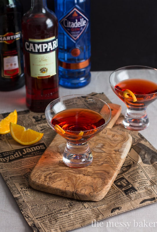 Classic Negroni Cocktail