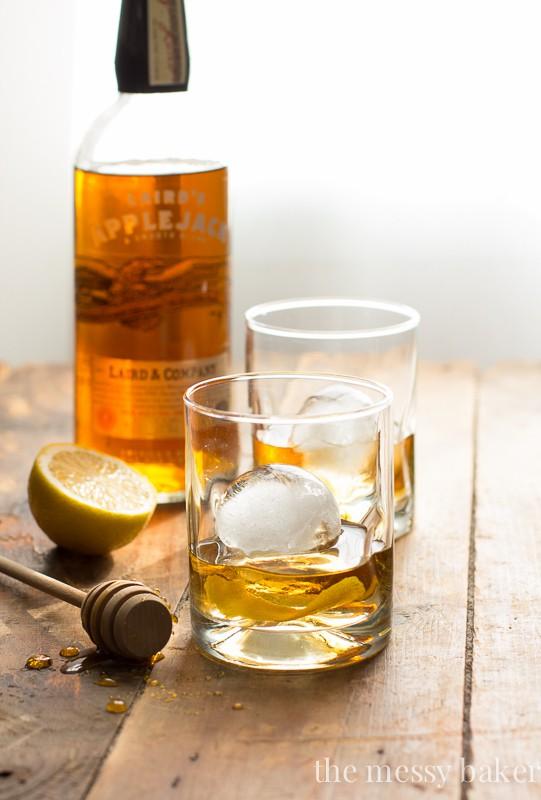 Honey Jack Cocktail   A refreshing mixture of AppleJack liquor, fresh lemon juice, and honey