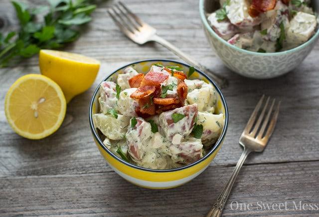 Chicken Bacon Ranch Potato Salad