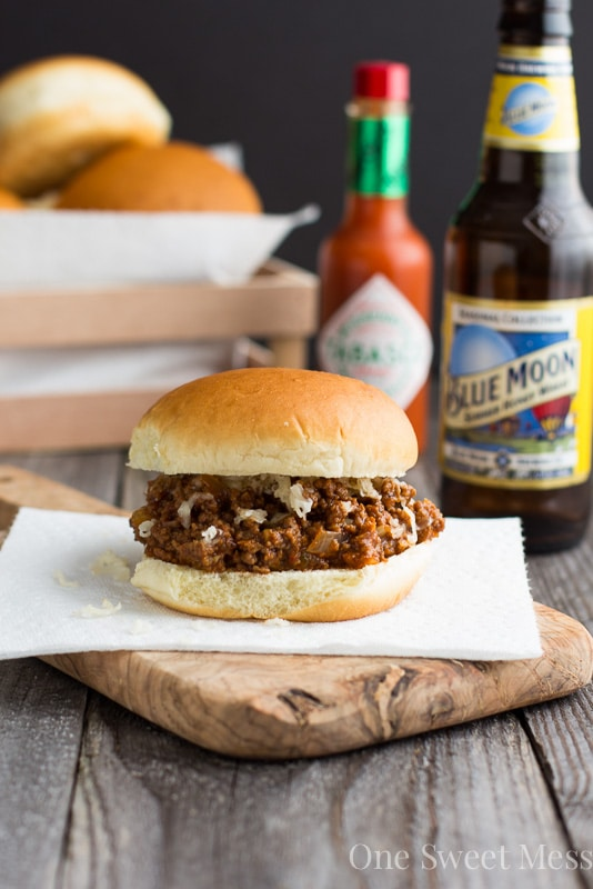 Chipotle Pale Ale Sloppy Joe's