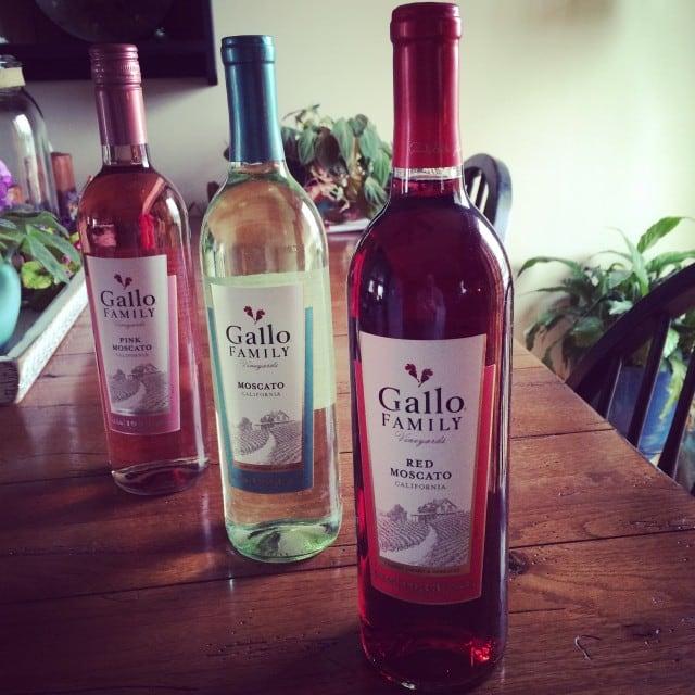 Gallo Family Vineyards' Moscato Trio