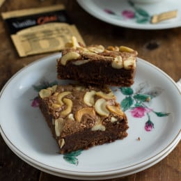 Brown Butter Chai Tea Brownies