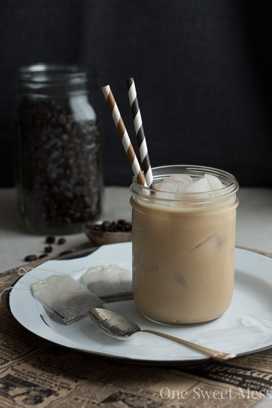 Dirty Chai Tea Latte {Espresso + Chai Tea}