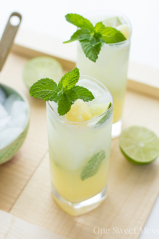 Thirsty Thursday: Pineapple Coconut Mojito