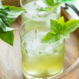 Basil Ginger Gin Fizz
