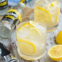 Vanilla Bourbon Lemonade