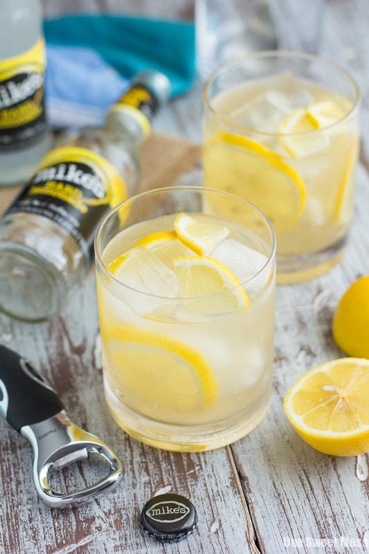 Vanilla Bourbon Lemonade