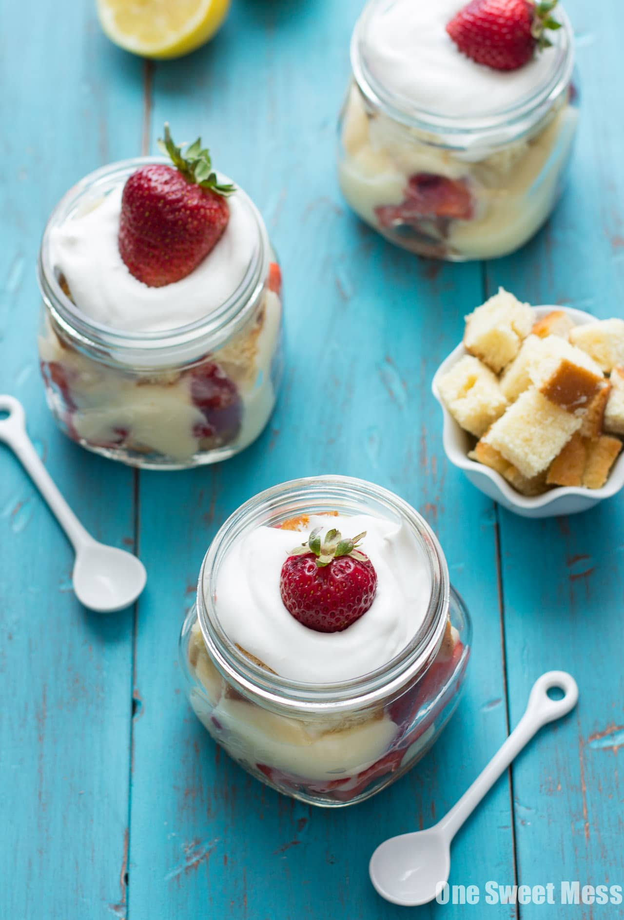 No-Bake Strawberry Shortcake Trifle
