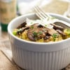 Garlic & Herb Spaghetti Squash with Mushrooms