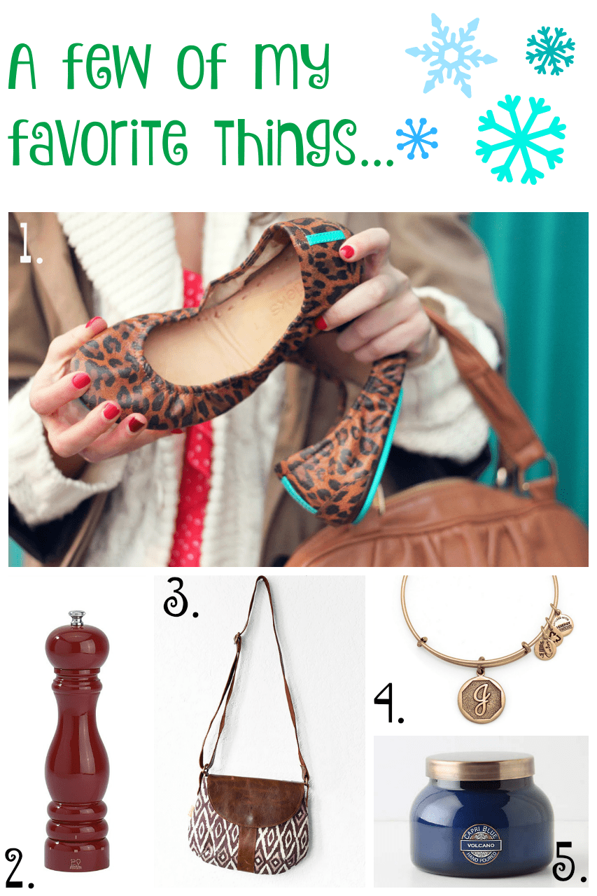 A Few of my Favorite Things Holiday Gift Guide 2015