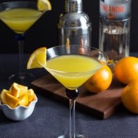Vanilla Tangerine Martini {By the Pitcher}