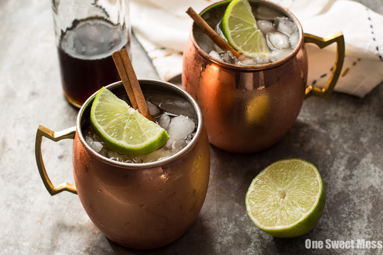 The Mid-Winter Mule: This bourbon-infused cocktail combines fruity Pimm's No.1, ginger beer, and homemade cinnamon simple syrup.