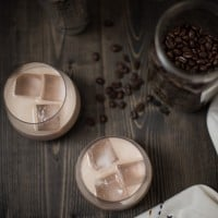 Chocolate Hazelnut White Russian Cocktail