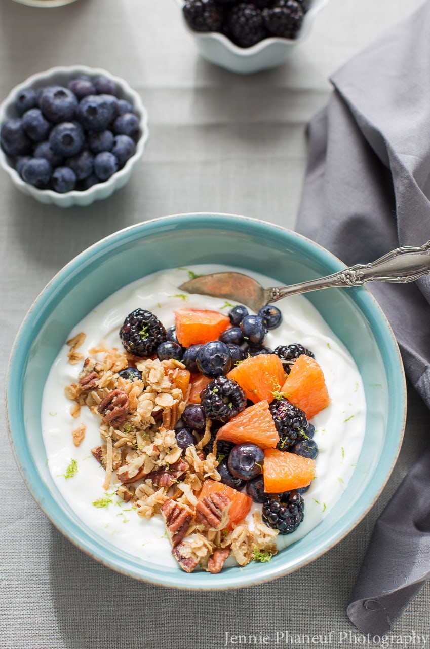 Breakfast Greek Yogurt Bowls