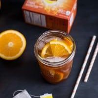 Honey Orange Iced Chai Tea