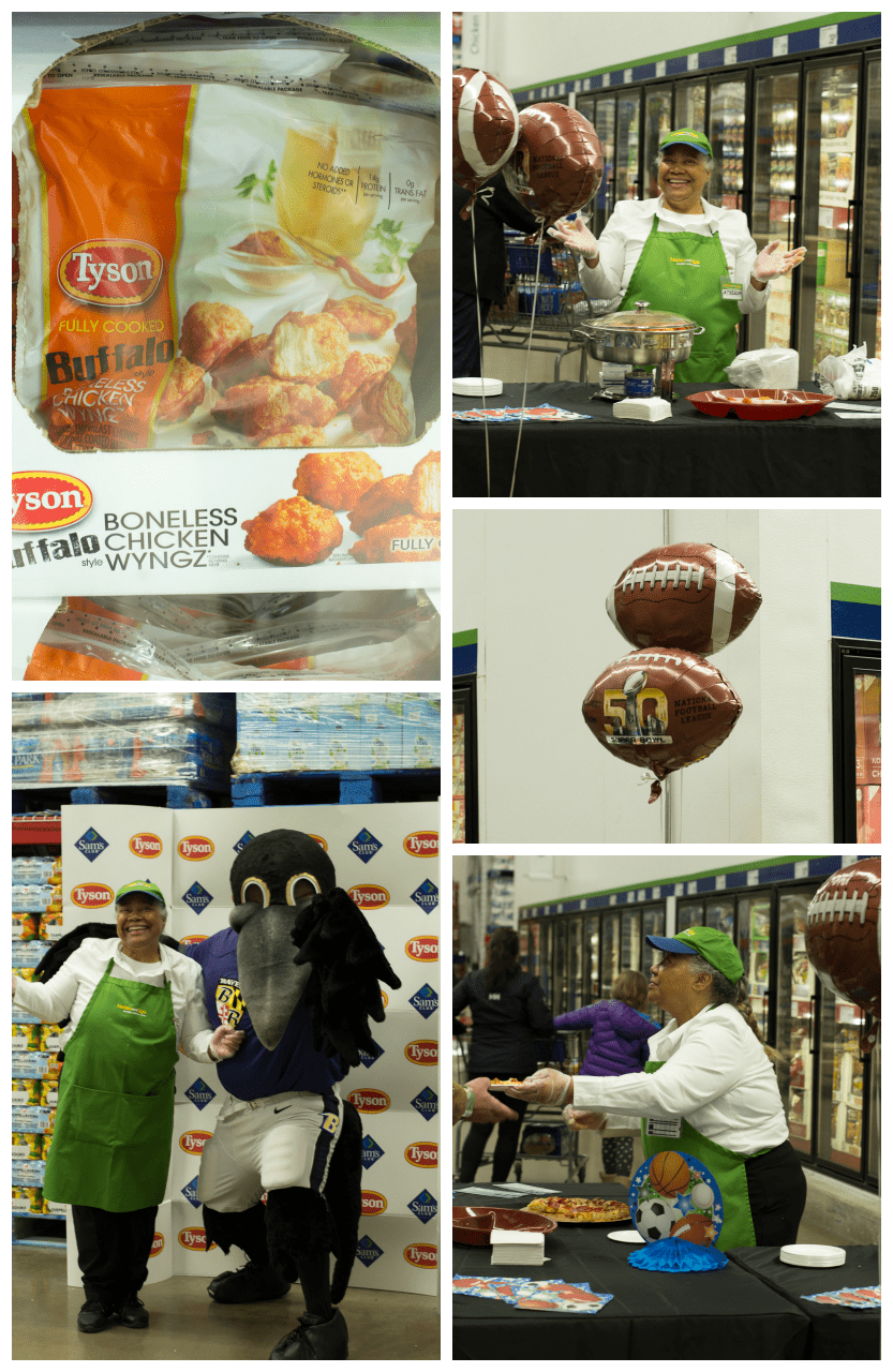 Tyson's Game Day Event at Sam's Club