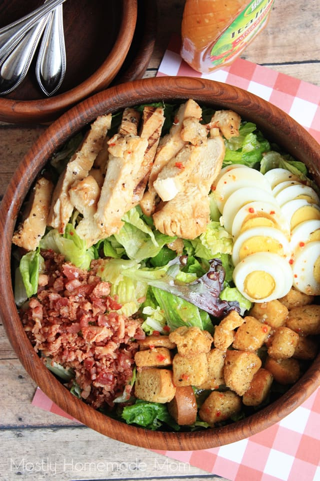 Chicken Bacon Club Salad